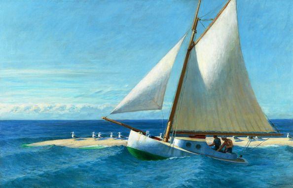 """Edward Hopper - """"The Martha McKeen of Wellfleet,"""" 1944. http://www.museumsyndicate.com/item.php?item=479"""