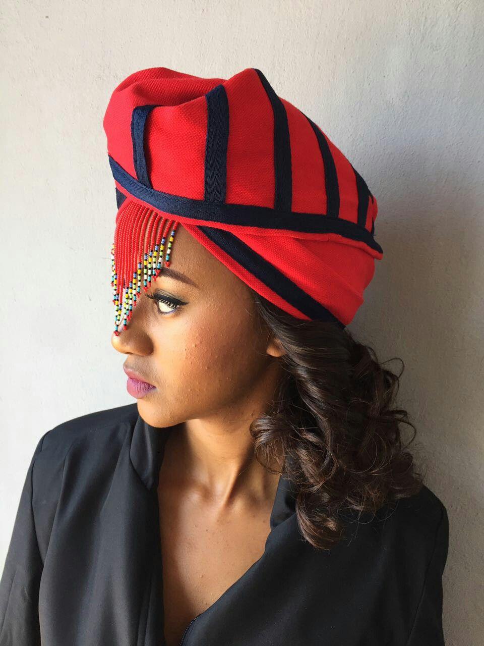 Xhosa bride doek