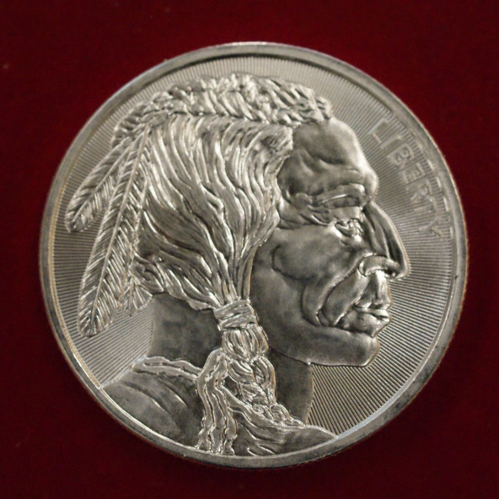 Pure 999 Silver Bullion 1oz Coins Have A Buffalo On One Side And An Indian Head On The Other 5oz Bars Y Silver Bullion Gold Bullion Coins Silver Bullion Coins