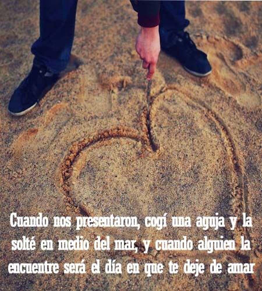 Nunca te dejare de amar <3