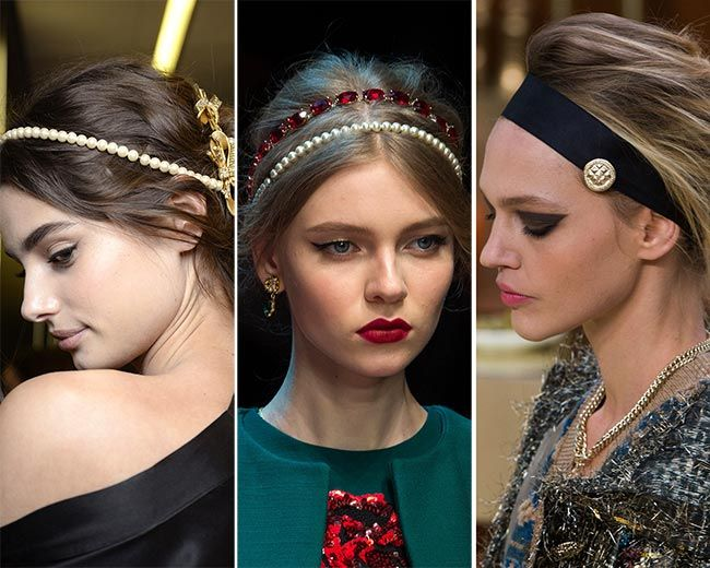 fall winter 2015 2016 hair accessory trends trends