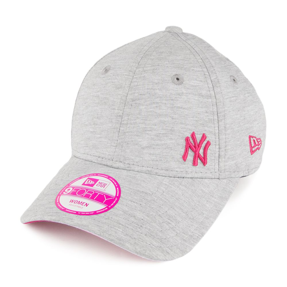 6dfc589d1ed New Era Womens 9FORTY New York Yankees Baseball Cap - Flawless Fleck - Grey  from Village Hats.
