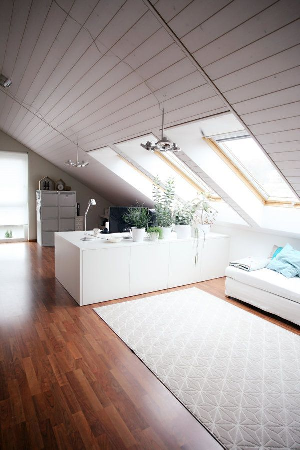 Homeoffice unter dem Dach Office spaces and Spaces - homeoffice einrichtung ideen interieur