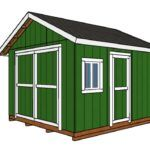 12x16 Shed Plans DIY Gable Shed
