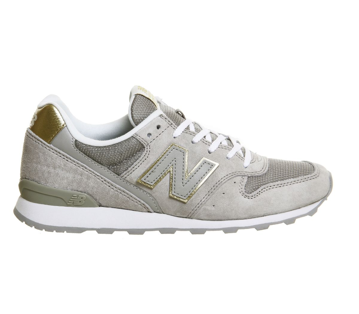 Buy Grey Gold Athleisure New Balance Wr996 from OFFICE.co.uk ...