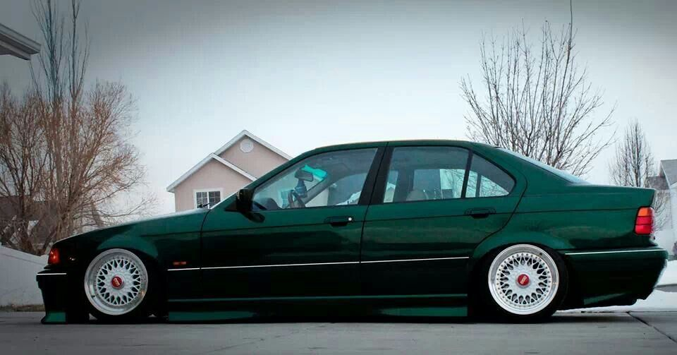 Bmw E36 Sedan German Style