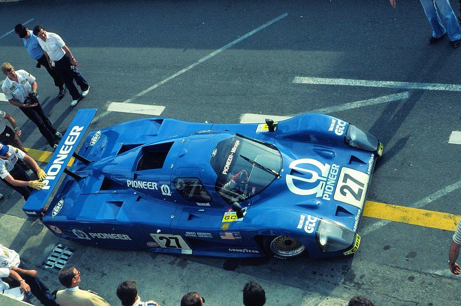Mario Andretti Michael Andretti Le Mans 1982 Mirage M12 Ford