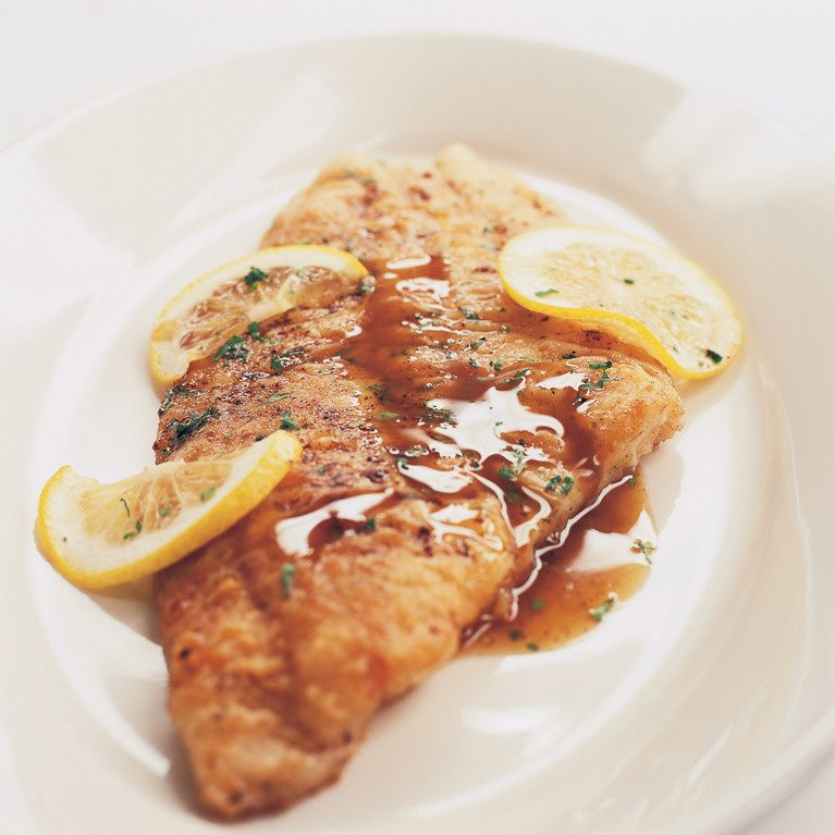 Fish meuniere with capers recipe with images cooking