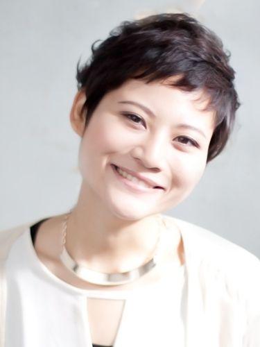 表参道ミセス髪型 40代ショートヘアスタイル3選 アジア人 ショート