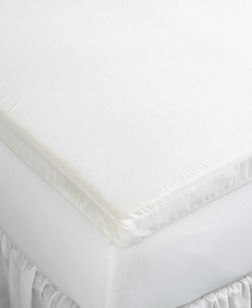 details about martha stewart sleep wise twin 2 inch memory foam