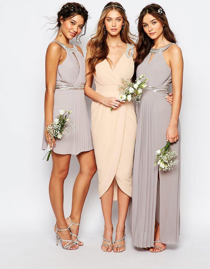 Image 3 of tfnc wedding wrap embellished midi dress colors image 3 of tfnc wedding wrap embellished midi dress ombrellifo Image collections
