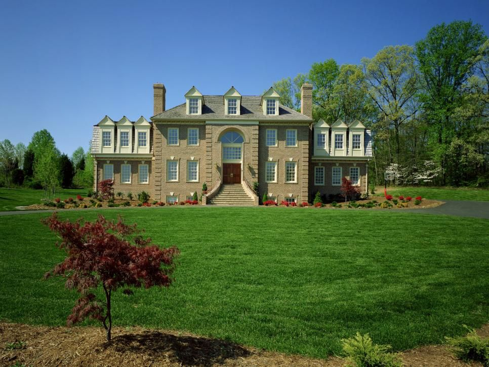 Popular Home Styles 26 popular architectural home styles   popular, columns and wings