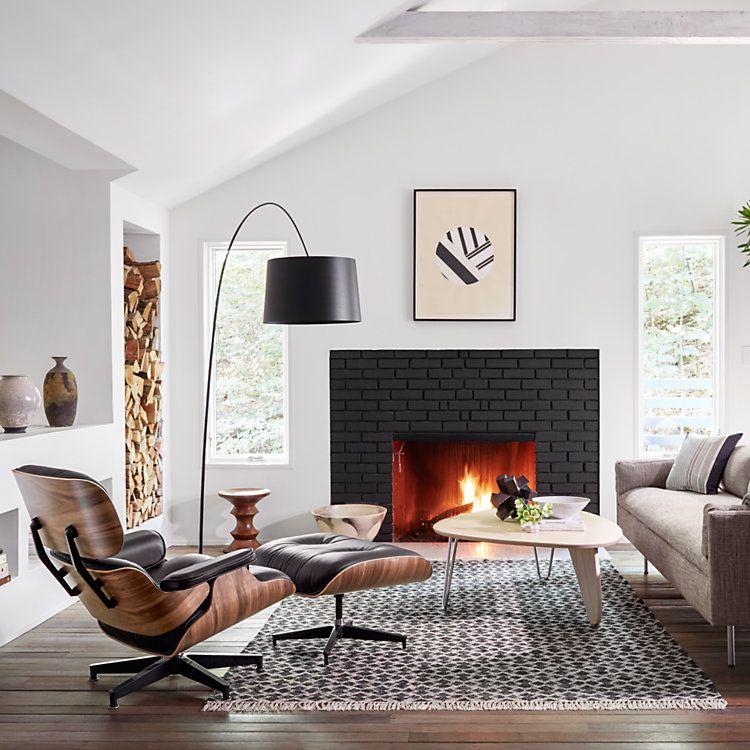 Herman Miller Eames Lounge Chair Es670 And Es671 Lounge Chairs Living Room Eames Lounge Eames Lounge Chair