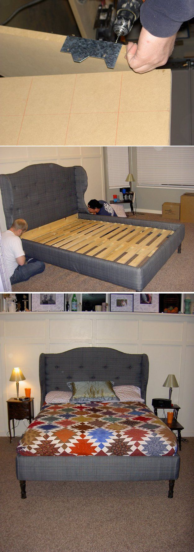 DIY Headboard Ideas | Home Decor Queen | Pinterest | Cabeceros ...