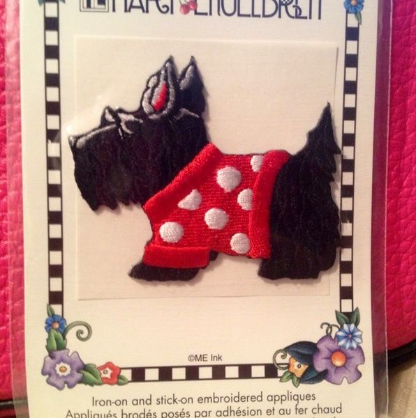 Mary Engelbreit Scotty Dog Patch    {Sold}