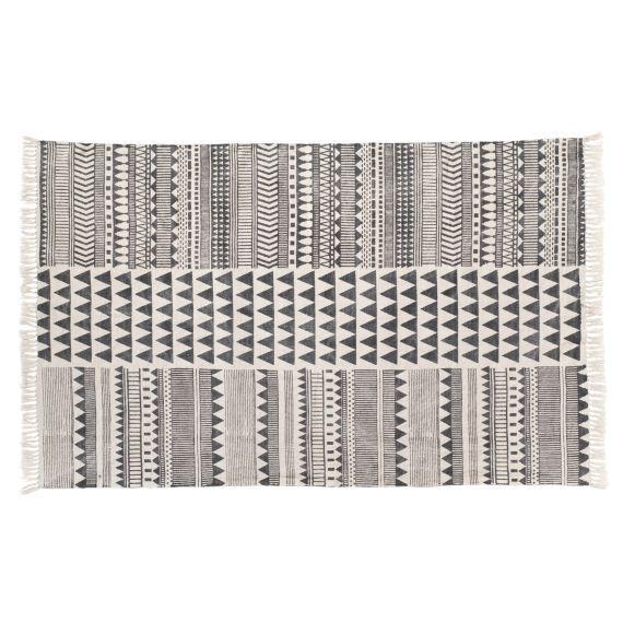 Teppich Triangel 120x180cm, Baumwolle Vorderansicht