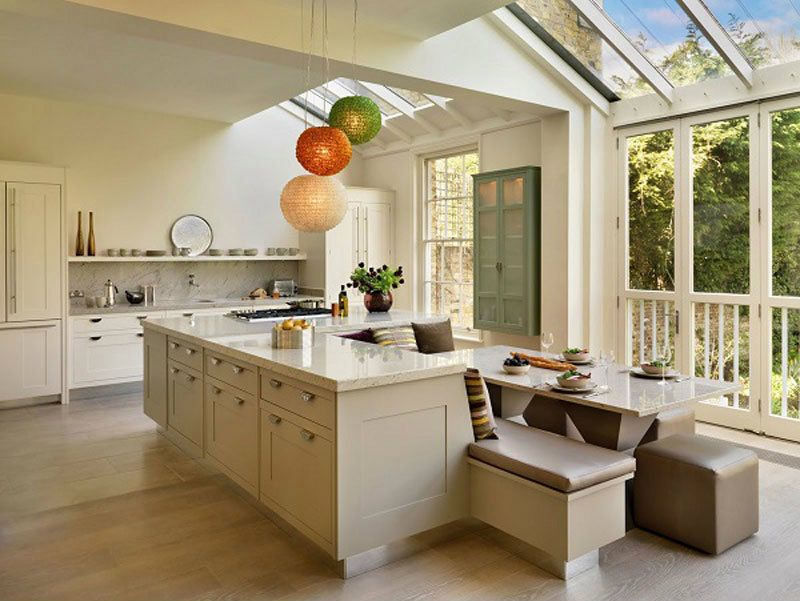 Fresh Small Kitchen Seating Ideas