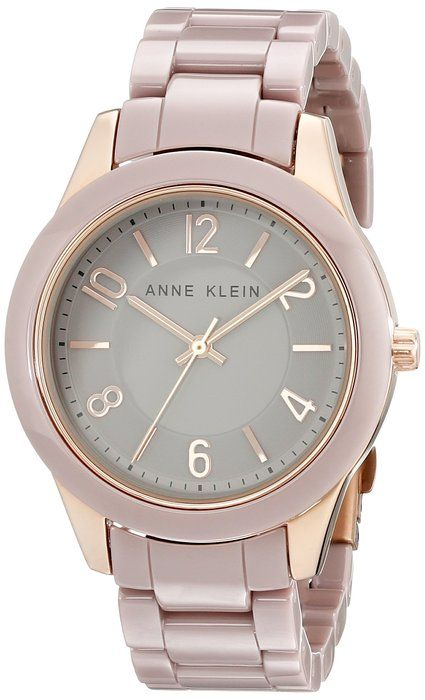 711fa1b65e3 Anne Klein Women s AK 1962RGTP Rose Gold-Tone Watch with Ceramic Link  Bracelet · Relógios De ...