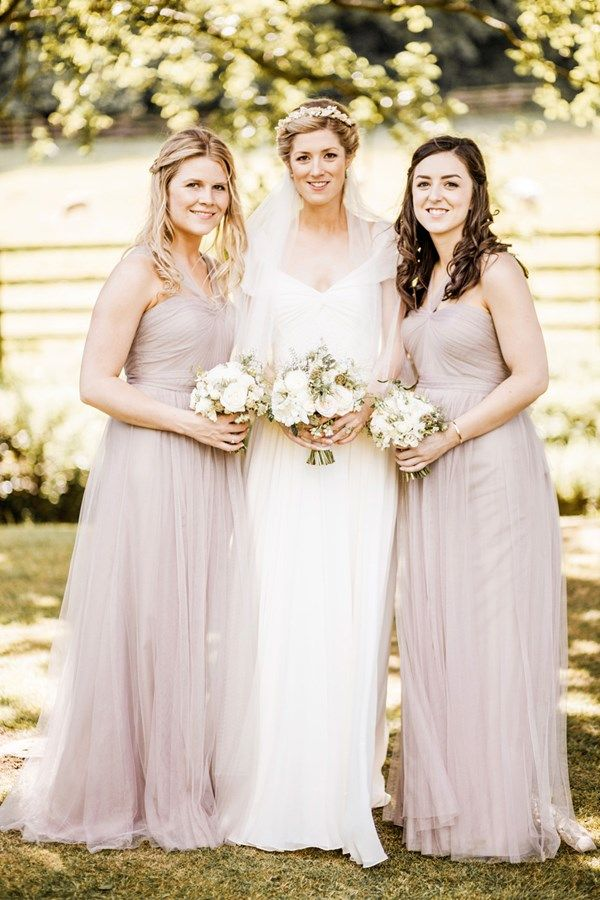 Real Wedding: A Summer Wedding with a Jenny Packham Wedding Dress ...