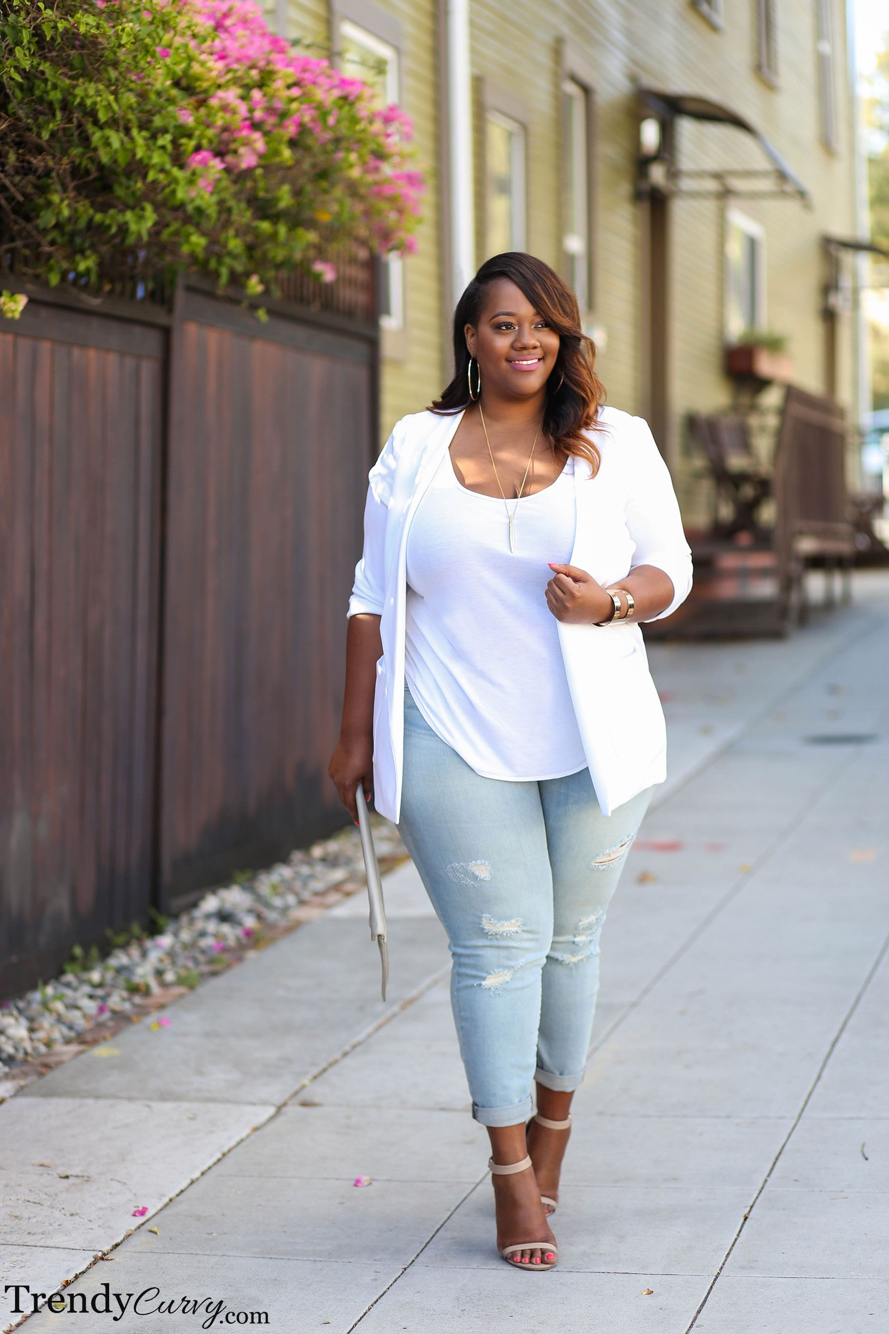 Spring Sleek - Trendy Curvy  Plus size outfits, Plus size fashion