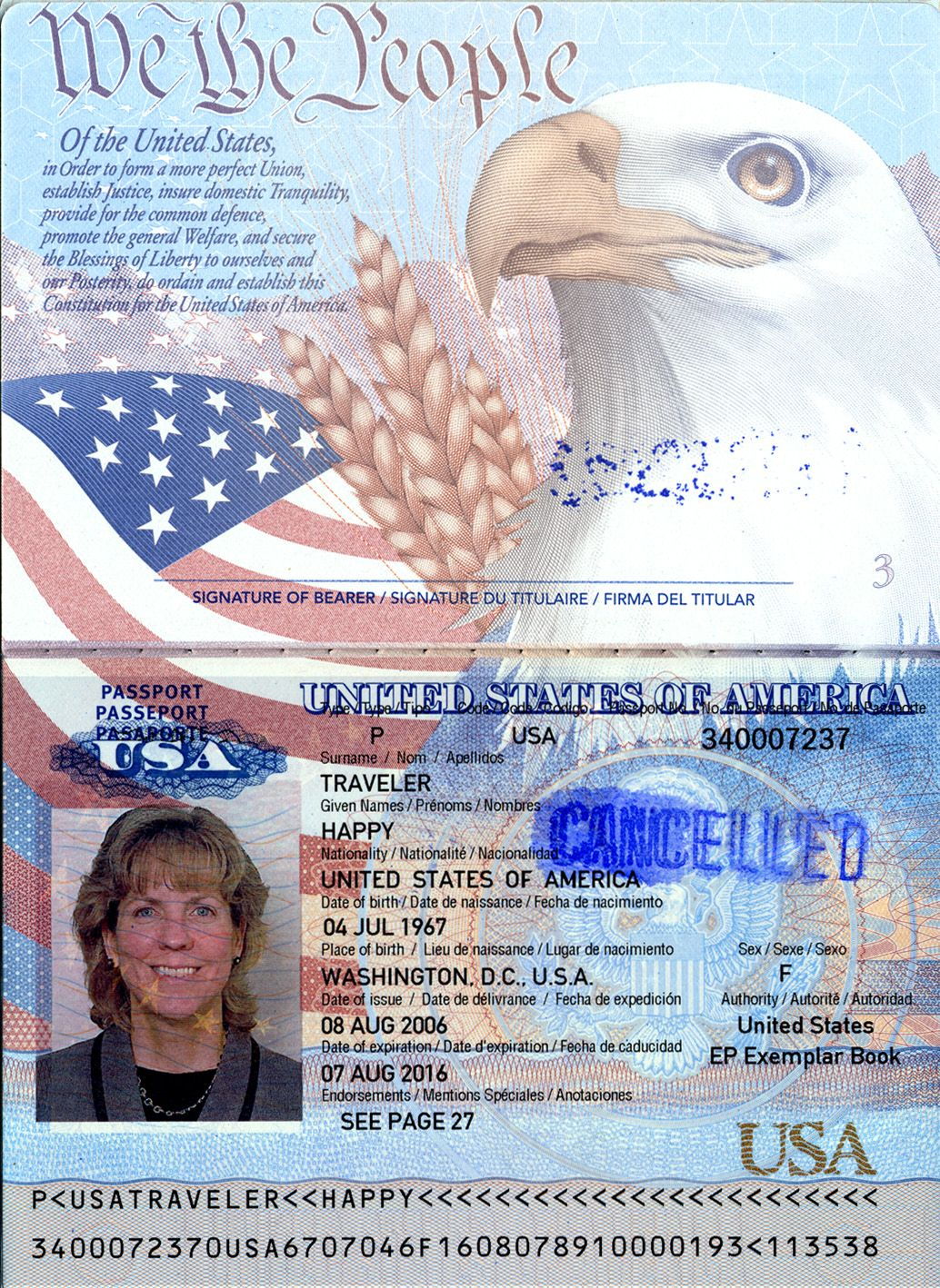 Make A Copy Of The Photo Page Of Your Passport And Keep Several