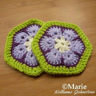 Free Crochet Pattern African Flower Tutorial African Flowers