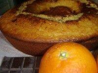 Ciambella all'arancia di Sicilia e cioccolato