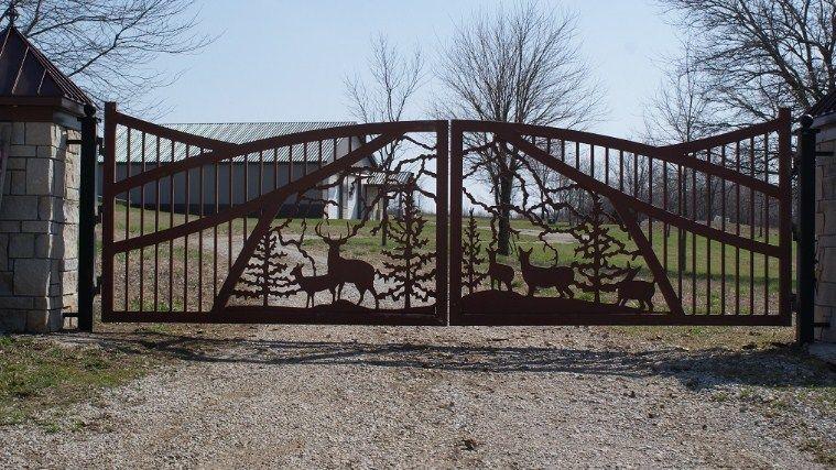 Beautiful Driveway Gates Wrought Iron Gates Custom Driveway Gate