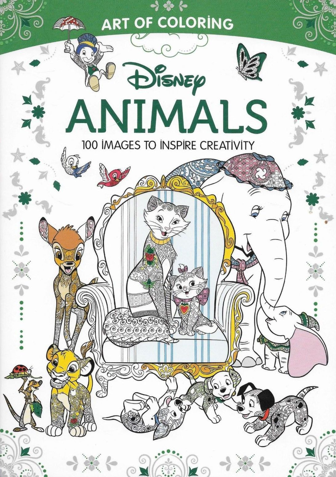 Art of Coloring Disney Animals | Disney Books, VHS, & DVDs | Pinterest