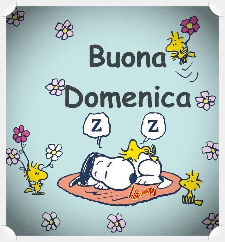 Buona Domenica Domenica Pinterest Snoopy