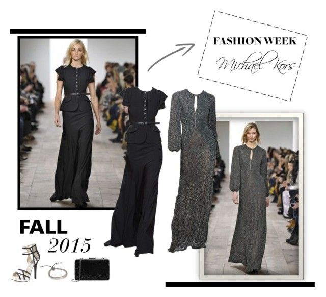 """""""Fashion Week Fall 2015"""" by lipservicebymel ❤ liked on Polyvore featuring Michael Kors and MICHAEL Michael Kors"""