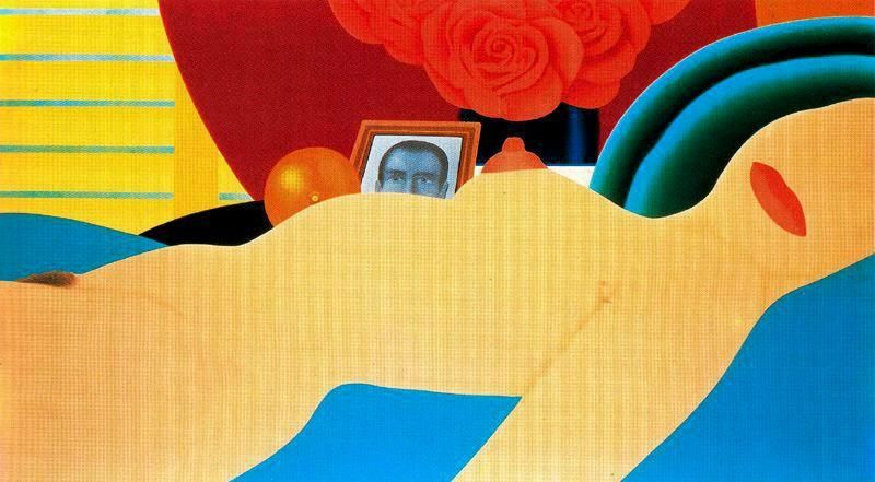 Nude No 1 by Tom Wesselmann (1931-2004, United States)