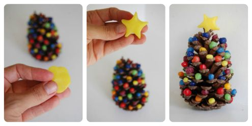 easy christmas crafts for kids to make manualidades Pinterest