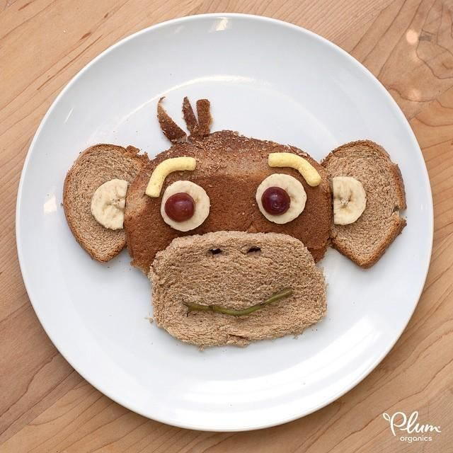 We take our #foodart very seriously, no monkey business ...