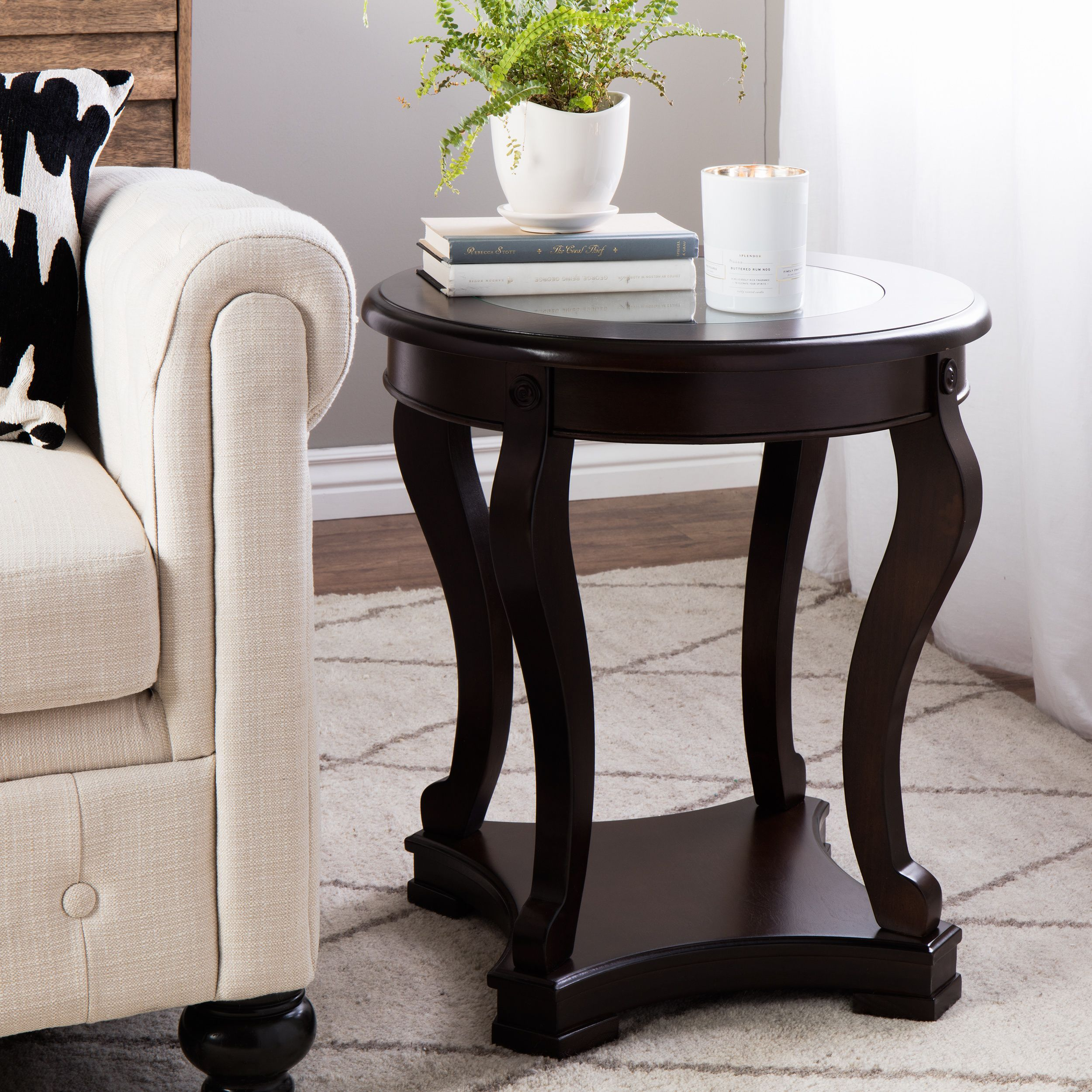 espresso end table end tables