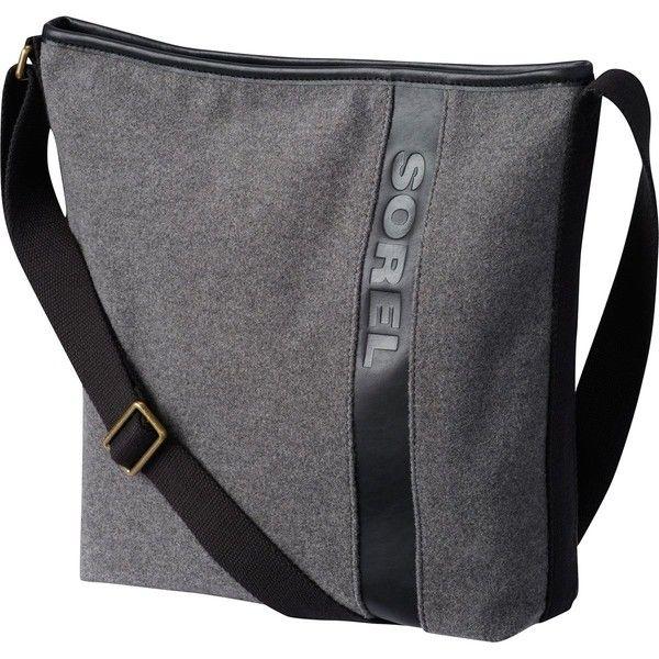 Sorel Crossbody Wool Purse 150 Liked On Polyvore Featuring Bags Handbags