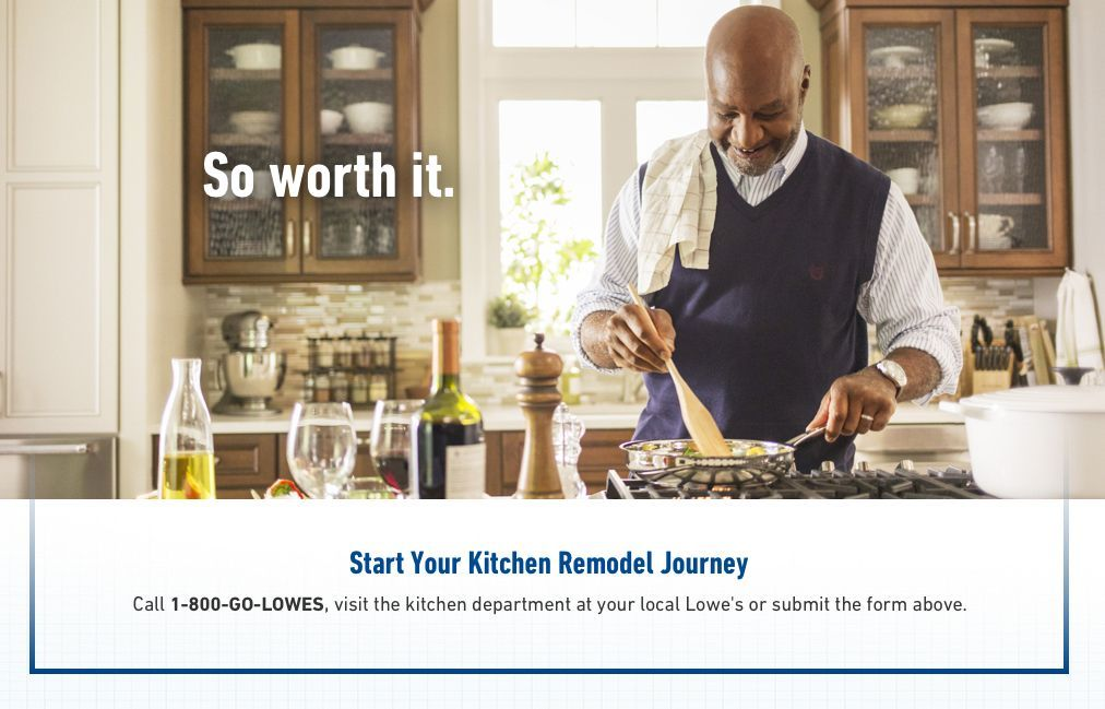Start Your Kitchen Remodel Journey Call 1 800 Go Lowes Visit The Kitchen Department At You Kitchen Remodeling Services Custom Kitchens Design Kitchen Remodel