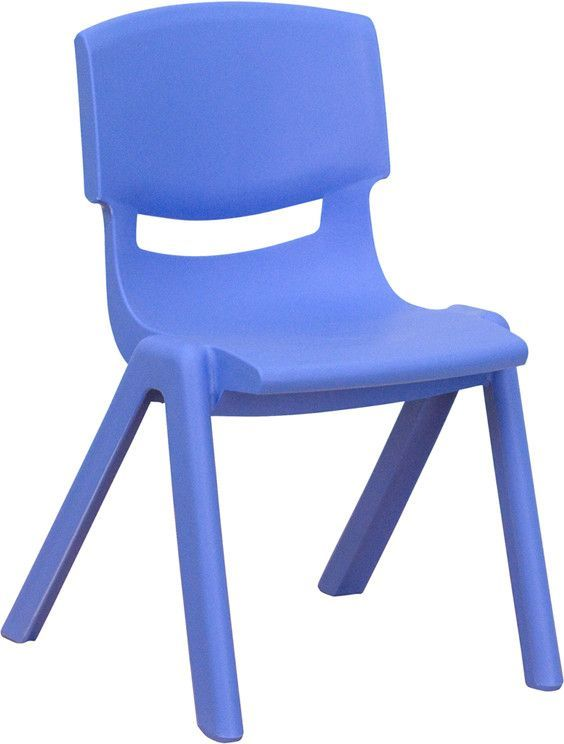 Blue Plastic Stackable School Chair With 12 Seat Height Yu Ycx 001 Blue Gg By Flash Furniture Chambre Enfant Canape Lit Fauteuil