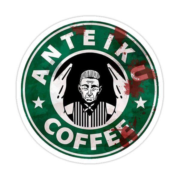 Tokyo Ghoul : Anteiku Coffee Sticker by NewDesignFR