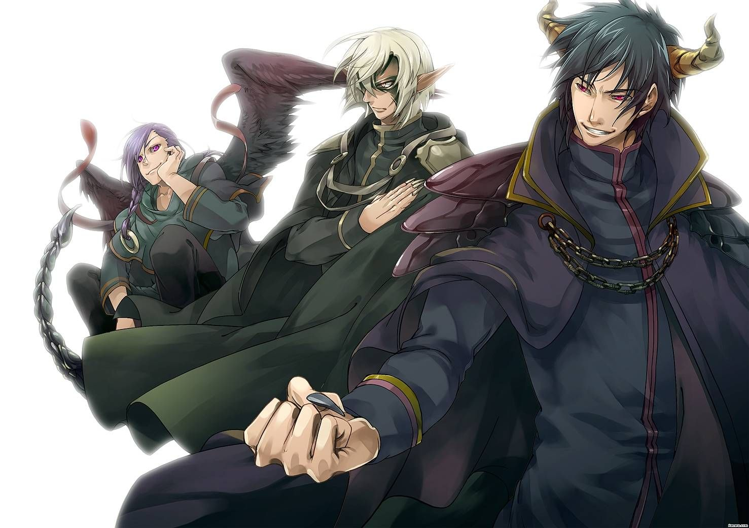 82300-the-devil-is-a-part-timer-male-demons.jpg (1477×1040 ...