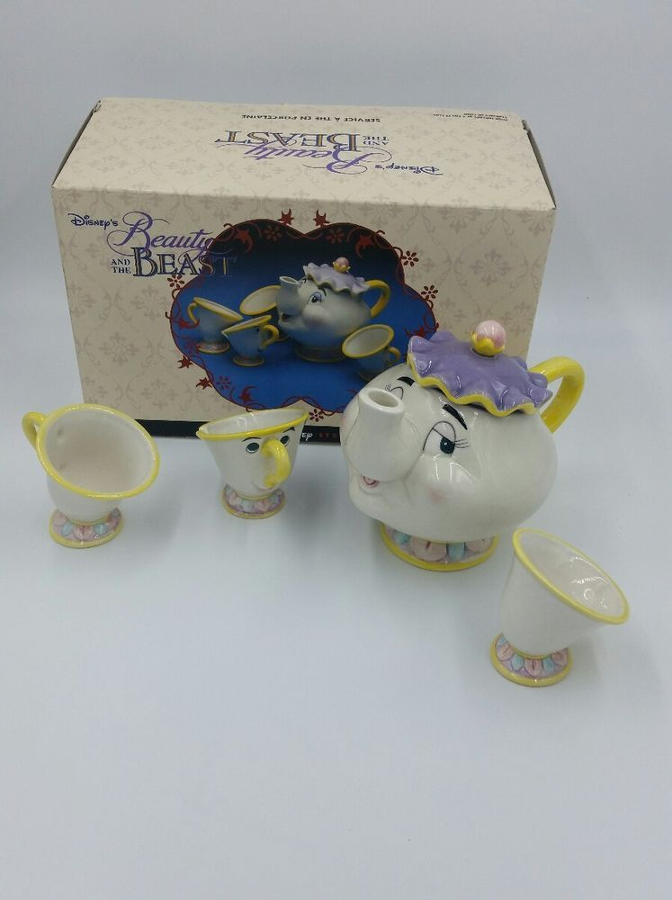 Details About Vintage Disney Store Beauty And The Beast Toy China
