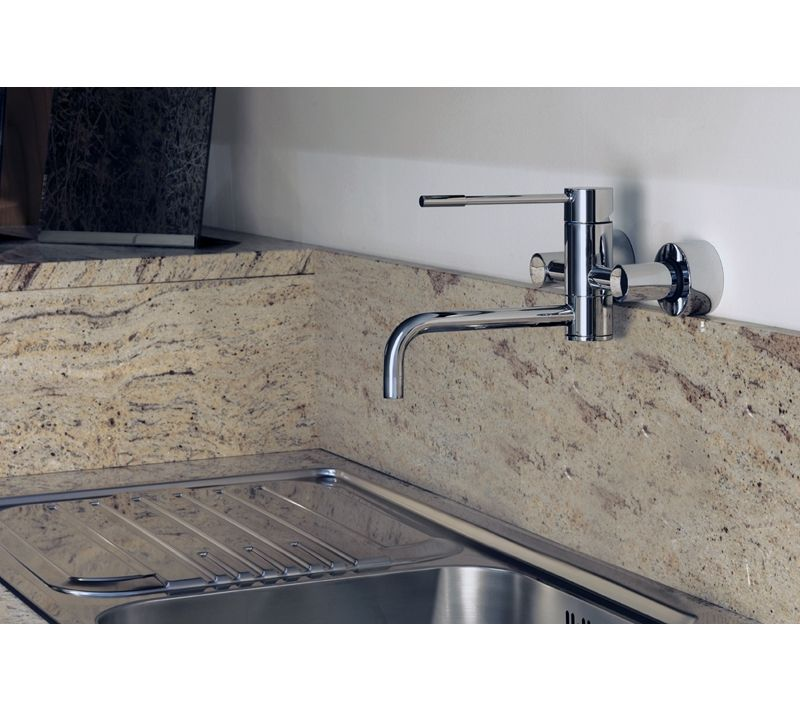 Image result for lever handle sink tap wall mount .co.uk | In the ...