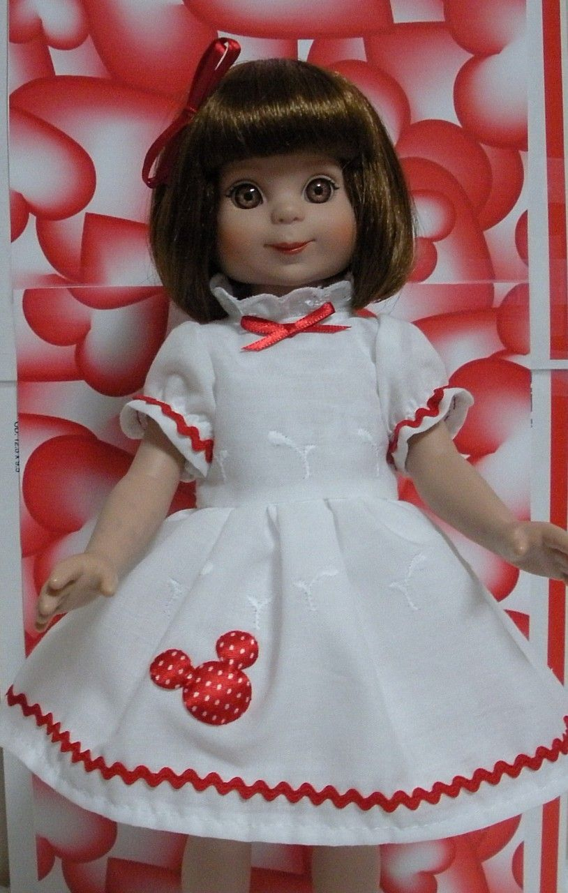 Wonderful World of Dolls - Fits 14 Inch Tonner Betsy McCall Doll .. Little Red Mouse Dress ... D227, $14.75 (http://www.wonderfulworldofdolls.biz/fits-14-inch-tonner-betsy-mccall-doll-little-red-mouse-dress-d227/)
