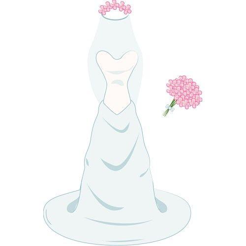 wedding dress clipart wedding az ii pinterest wedding dress rh pinterest com clipart wedding dresses wedding dress clip art silhouette