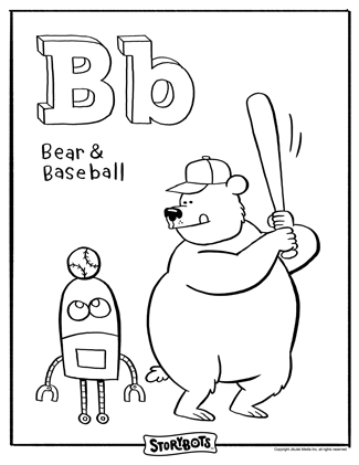 The letter B is BEST for spelling words like Bear and