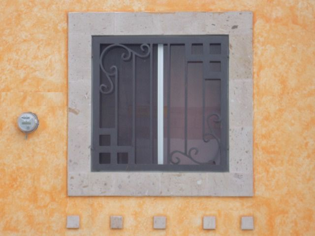 Foto de dise os rejas para ventanas modernas para casa - Disenos de casas bonitas ...
