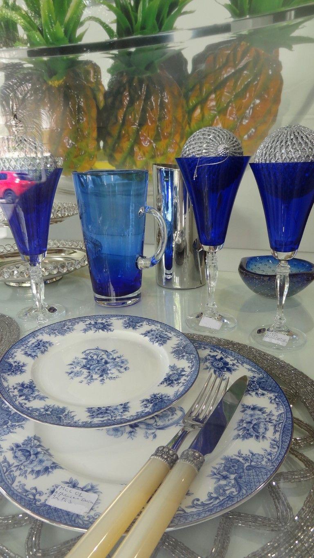 4  Mesa de Natal azul Roberto Simões, no blog Detalhes Magicos