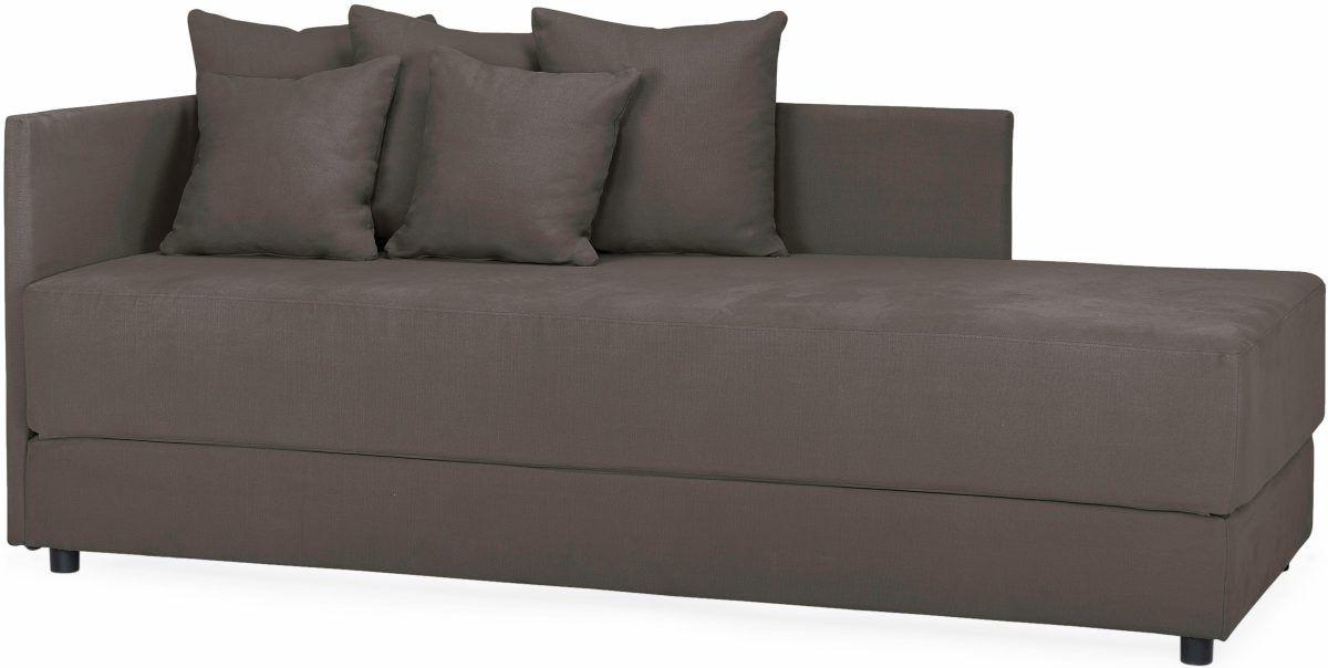 Home affaire Funktionssofa braun, Armteil links, »Twain«, FSC - wohnzimmer sofa braun