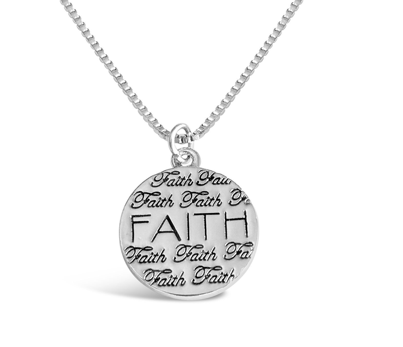 Faith necklace products pinterest products