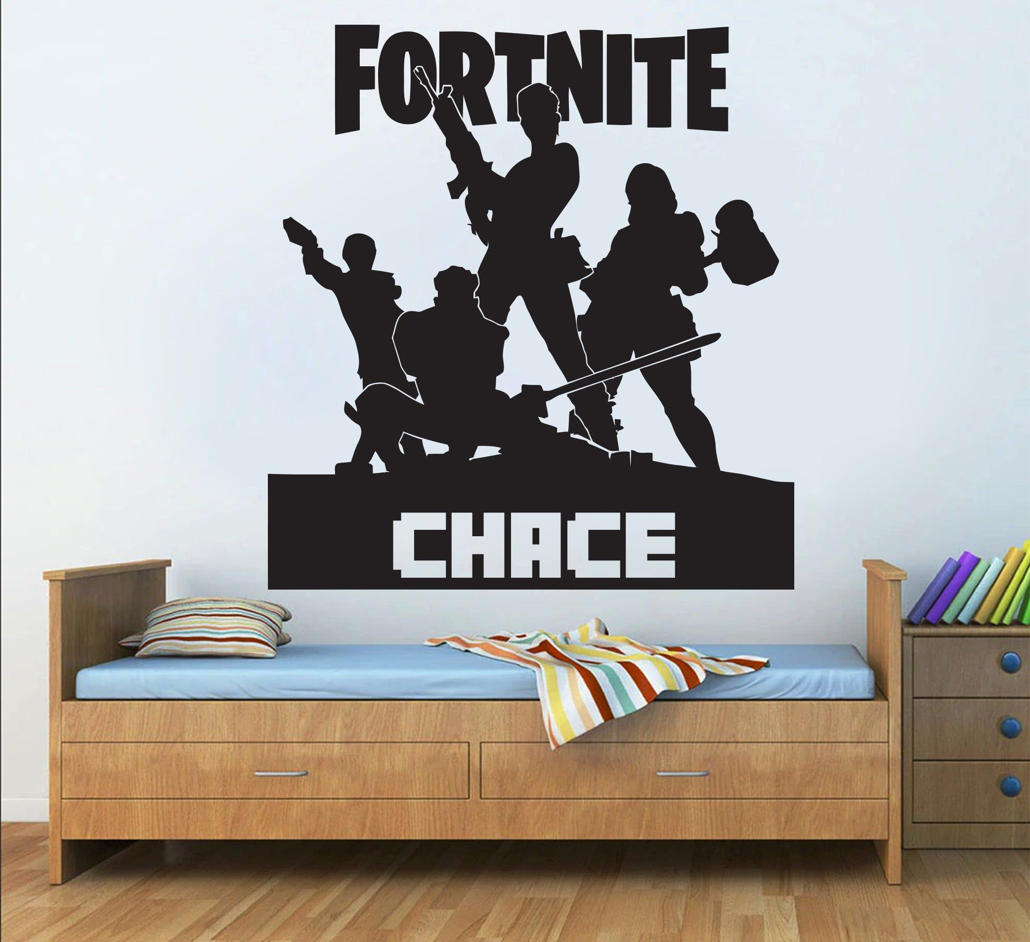 Gamer Wall Decal Vinyl Art Design Gamers World Wall Decor for Teen Kids Boys Bedroom Playroom Home Decoration Wallpaper Game Wall Stickers Murals